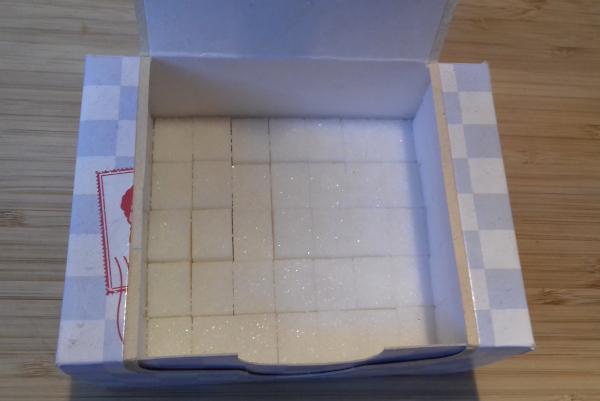 hány kockacukor van egy dobozban?